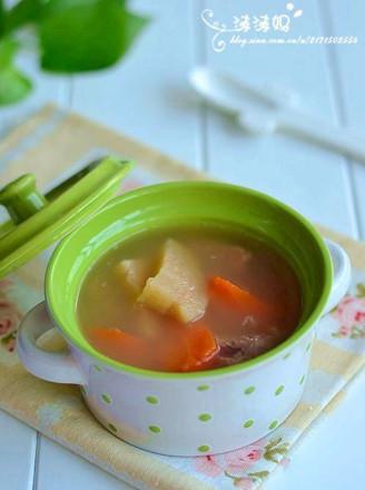 粉葛红萝卜龙骨汤的做法