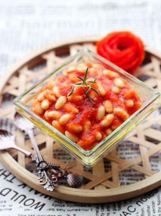 茄汁黃豆的做法