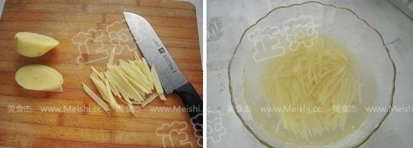 红油土豆丝的家常做法