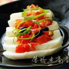 豆豉剁椒蒸芋头
