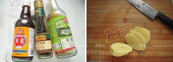 红油土豆丝的做法图解