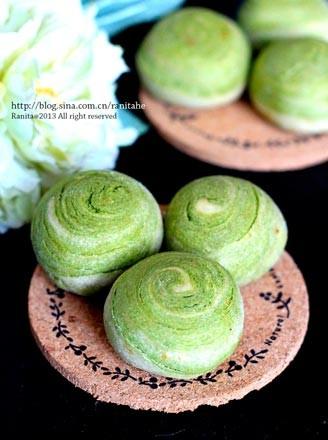 红枣燕麦馅绿茶酥的做法