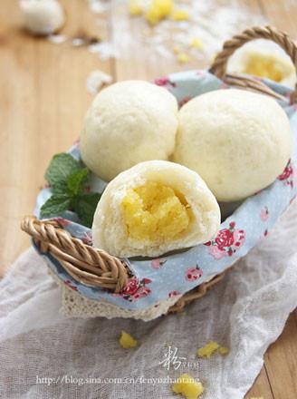 甜點奶黃包的做法