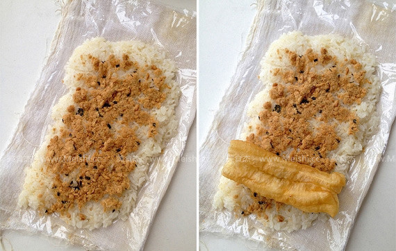 糯米包油条怎么吃