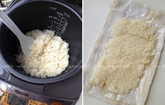糯米包油条的简单做法