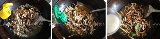酸辣蘑菇汤怎么吃