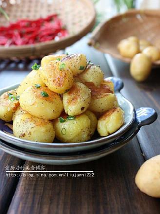 椒盐小土豆的做法