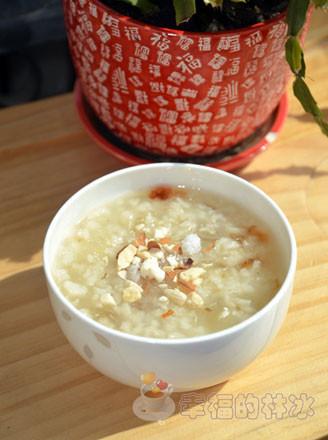 皂角米桃膠冰粥的做法