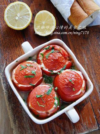 奶酪香烤番茄盅的做法