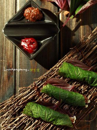 紫苏金针牛肉卷的做法