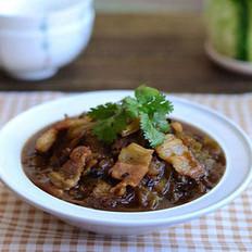 苦瓜香焖五花肉