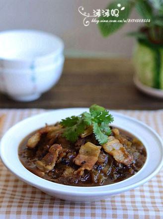 苦瓜香焖五花肉的做法