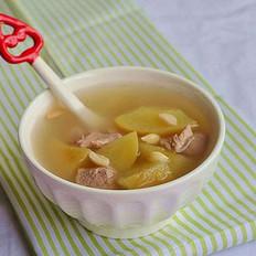 苹果南北杏瘦肉汤