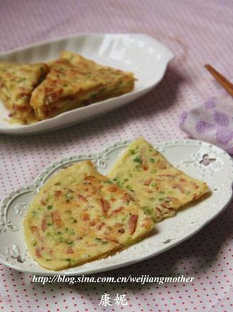 香蔥培根蛋餅的做法