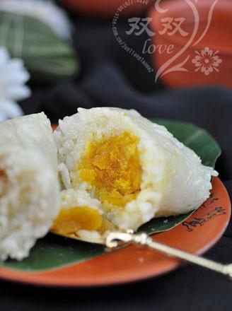 豬肉蛋黃粽的做法