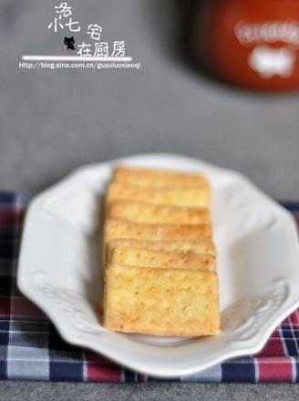 芝士咸酥餅干的做法