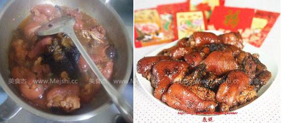 发菜蚝豉焖猪手怎么炒