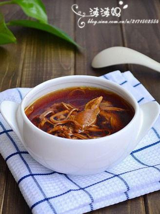 滋補蟲草花燉雞湯的做法