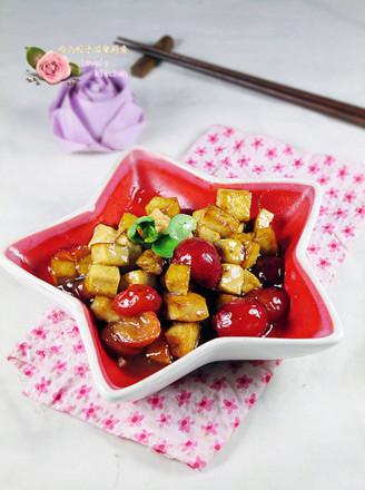 樱桃豆腐的做法