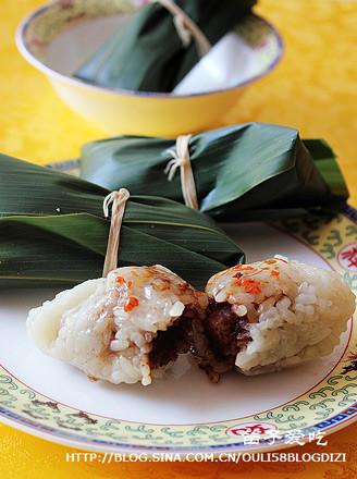 豬油豆沙粽的做法