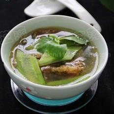 青瓜皮蛋湯