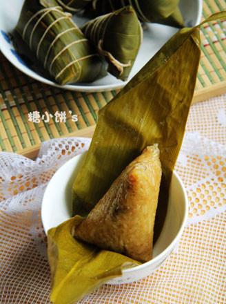 板栗排骨粽的做法
