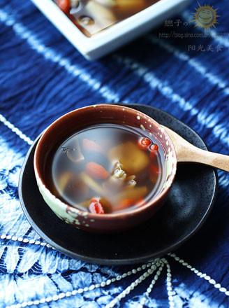 百合红豆汤的做法