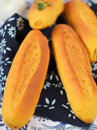 南瓜紅糖面包的做法
