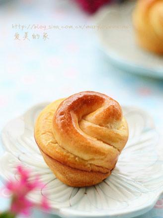 栗子小花面包的做法