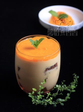杏醬杯子慕斯的做法