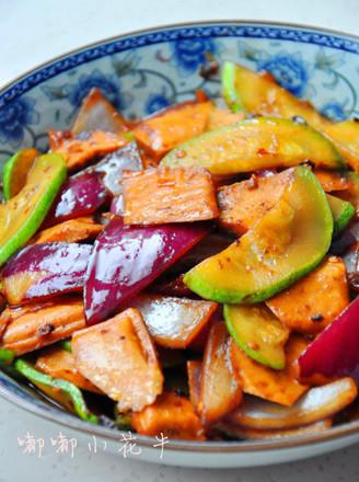 豆豉炒雜菜的做法