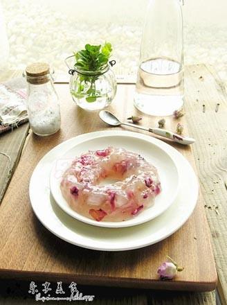 玫瑰皂角米果凍的做法
