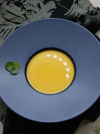 南瓜奶油濃湯的做法