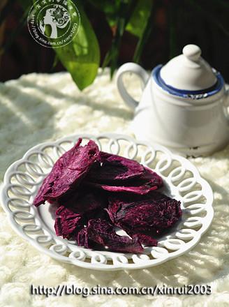 紫薯干的做法