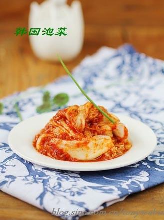 韓國泡菜的做法