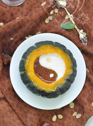 桃膠皂角米果凍的做法