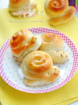 小蝸牛面包的做法