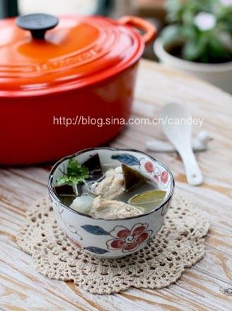 海帶冬瓜排骨湯的做法