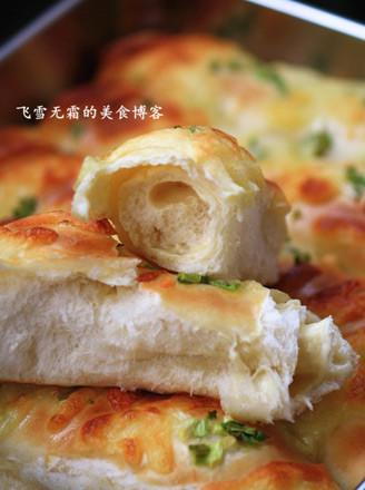 奶酪葱花排包的做法