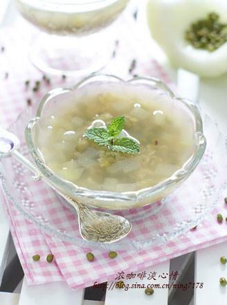 蜂蜜綠豆冬瓜飲的做法