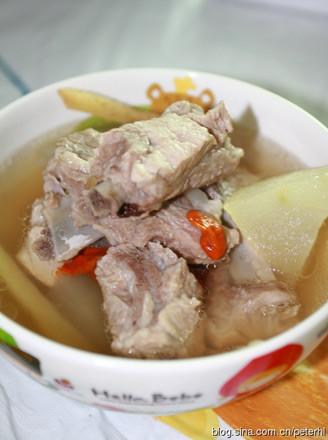 冬瓜排骨湯的做法