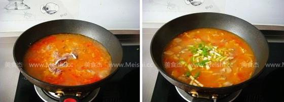 番茄鱼片汤的简单做法