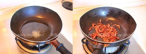 绿豆芽炒肉丝的家常做法