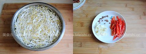 绿豆芽炒肉丝的做法大全