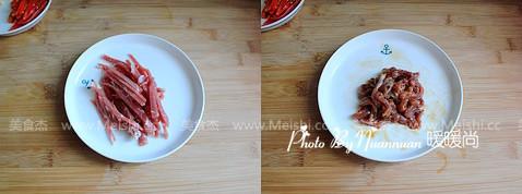 绿豆芽炒肉丝的做法图解