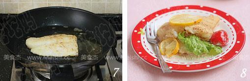 香煎龙利鱼柳的简单做法