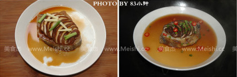 香菇蒸鳕鱼的做法图解