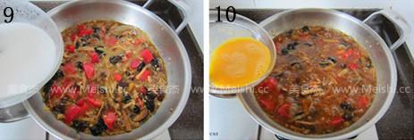 番茄肉末打卤面怎么吃