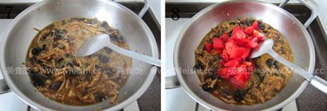 番茄肉末打卤面的简单做法