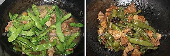 油豆角炖肉的家常做法